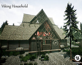 Viking Household Unreal Engine UE4 3D asset