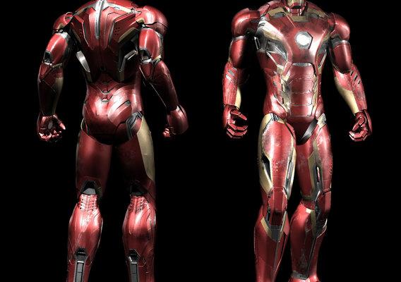 Iron Man Mark 45 (Dirty)