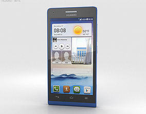 3D model Huawei Ascend G6 Blue