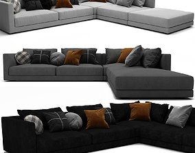 Bristol Sofa Set 01 3D