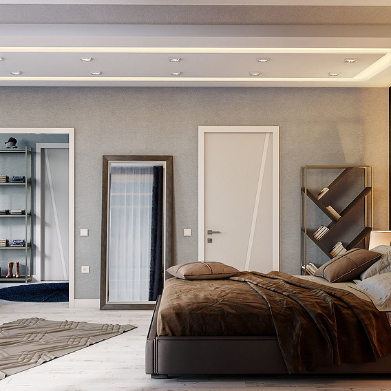Bedroom Design in Antalya
