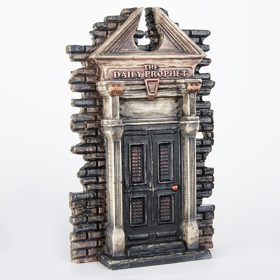 The Daily Prophet Gate - Harry Potter - 3D Print Model