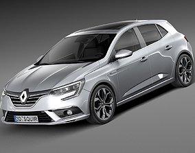 Renault Megane 2016 3D model