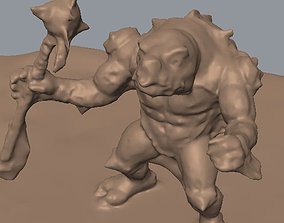 3D Snapping Turtle