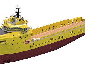 Platform Supply Vessel World Peridot 3D model