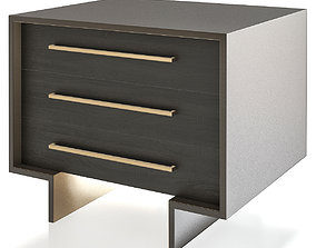 game-ready NATALIA NIGHTSTAND 3d model