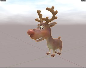 3D asset realtime Rudolph