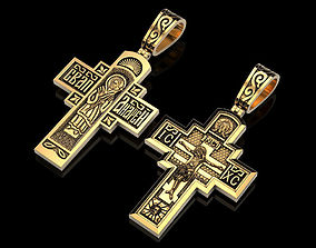 Cross Holy Apostle Andrew RU 3D printable model