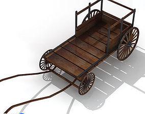ancient chariot 2 3D