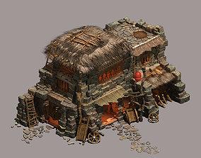 Desert - Straw House 3D model