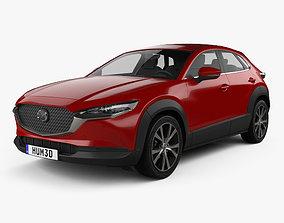 Mazda CX-30 2020 3D model 2022