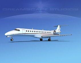Embraer ERJ-140 Corporate 1 3D model