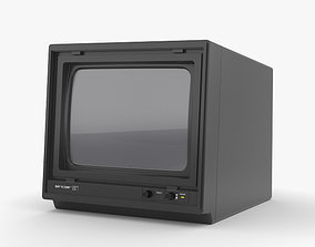 Sinclair QL Vision Monitor 3D model