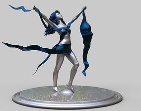 girl statue 3D print model