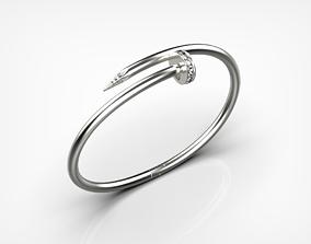 3D printable model Bracelet Nail
