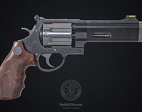 3D model Smith Wesson 627 VComp