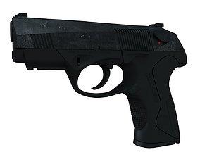 3D Beretta Px4 Storm High poly