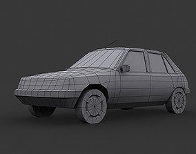 3D Peugeot-205 LP