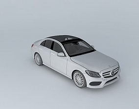 2015 Mercedes-Benz C-Class W205 3D model game-ready