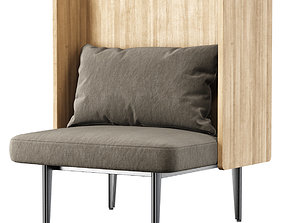 Versus restaurant chair 3D model