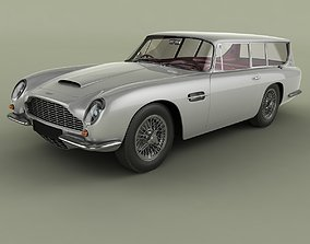 Aston Martin DB6 Shooting Brake 3D