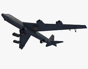 3D model Boeing B-52 Stratofortress