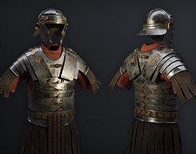 Lorica Segmentata Ancient roman legionary armor 3D asset