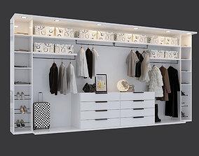 Womens wardrobe 3D model