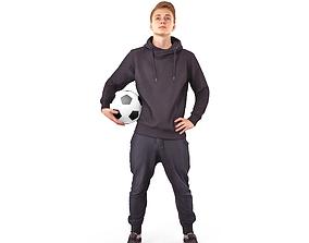 Soccerman 3D asset