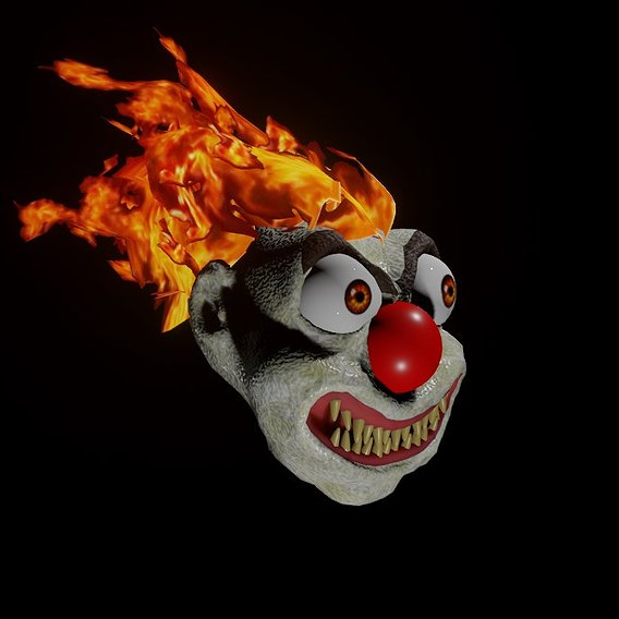 The Fire Clown