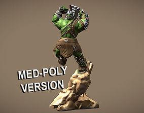 HULK RAGNAROK INSPIRITED 3D MODEL - MED POLY VERSION