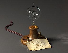 Edison Lamp 3D