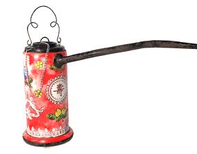 Porcelain Opium Pipe 3D