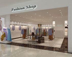 Fashion Boutique 01 3D model