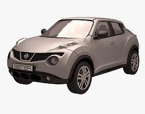 Nissan Juke 003 Grey suv 3D