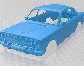 body Volga GAZ 24 Printable Body Car