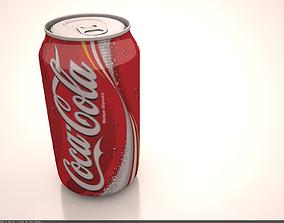 Coca Cola can 3D