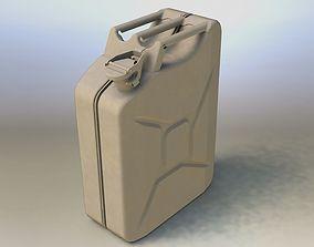 3D model gasoline Jerrycan 20 L