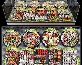 3D restaurant Sushi bar