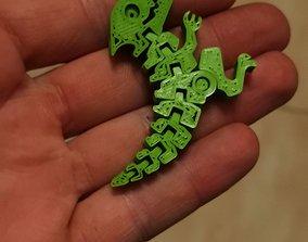 3D asset Flex Dino Keychain