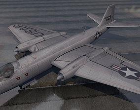 Martin B-57 Canberra pack 3D model