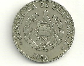 3D model Texture set of 6 coin types of Guatemala