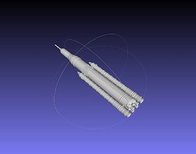 NASA SLS Block 1 Printable Rocket Model