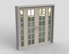 Modern Door 3D model