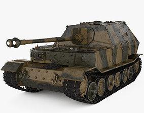 Elefant tank destroyer 3D