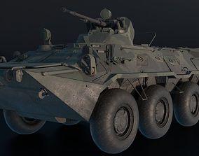 3D asset BTR-80