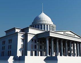 Government Building Symbol 3D model