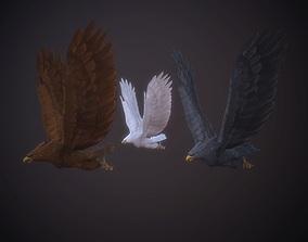 glede eagle glede bird 3D model