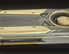 Nvidia titan v Graphics Cards 3D Models VR / AR ready