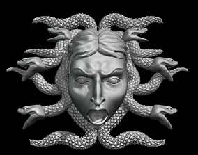 3D printable model Medusa Gorgon decor